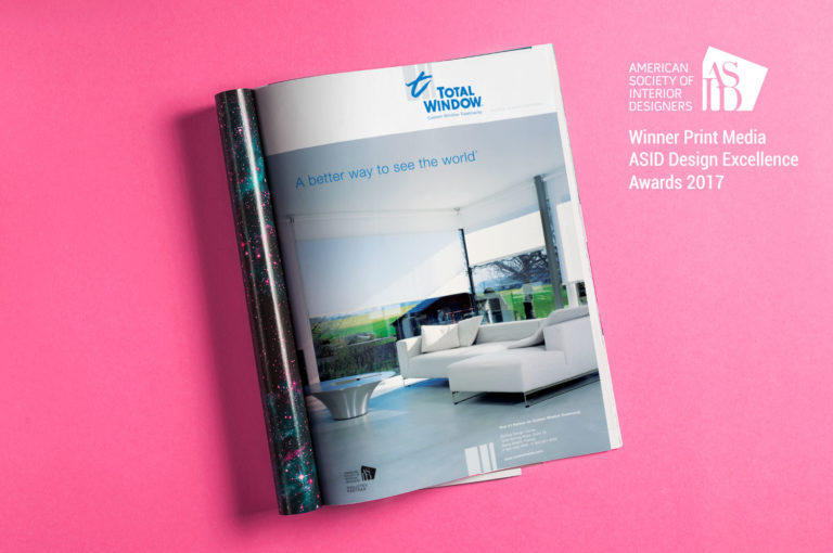 totalwindow, inkcstudios, asid, designaward, printad, graphicdesign
