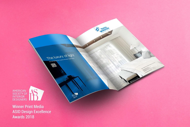 totalwindow, inkcstudios, asid, designaward, printad, graphicdesign
